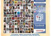 Diseño y programación de aplicaciones y fanpages para facebook