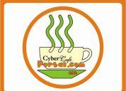 Ciber cafe portal.com centro edificio el barco