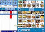 Software para restaurant pizzeria cafeteria local de comida - barcontro el mejor software