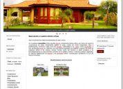 Sitio web listo para negocio de propiedad raiz