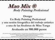 Body painting profesional