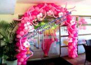 Fashion party decoracion en globos y manteleria