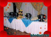 Banquetes, refrigerios y alimentos para su evento
