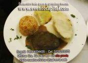 Banquetes economicos en bogotá pbx 4004435