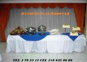 Banquetes almodovar organizacion de eventos sociales y empresariales