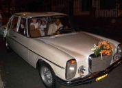 Alquilo carro para boda
