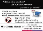 Reparación y mantenimiento profesional de computadores