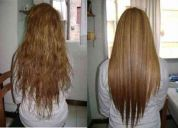 Alisado con keratina brasilera para un pelo espectacular!!! completamente natural