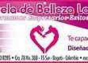 Escuela de elleza latina- cursos prÁcticos para profesionales