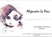 Maquillaje artistico novias, 15 años, eventos especiales, cine y tv