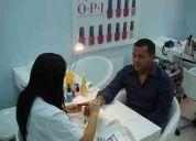 Expertas estilistas servicios de manicure a domicilio
