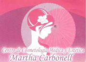 Centro de cosmetologia medica y estetica martha carbonell