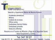 Seleccion y capacitacion empleadas de servicio domestico