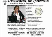 Domesticas de colombia