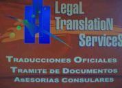 Apostille y traduccion oficilal - tlc