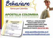 Oficinas de apostilla en la dorada caldas, expreso bolivariano sa