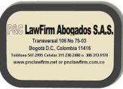 Abogados especializados, ofrece su amplio portafolio que abarca varias ramas del derecho.