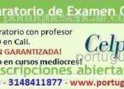 Clases de portuguÉs en cali con profesor nativo