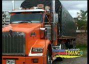 servicio de carga en camiones tipo estaca – colombia