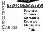Servicios especiales en transporte