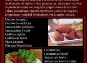 Deliciosa comida costena para eventos y restaurantes somos una empresa dedicada a la elabo