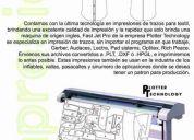 Impresión de patrones para empresas textiles y de inflables