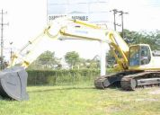 Alquilo  /vendo  excavadora komatsu pc 400 lc -6