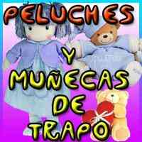 DE PELUCHES MUÑECAS DE TRAPO ENVIO GRATIS MOLDES PATRONES TELA FELPA