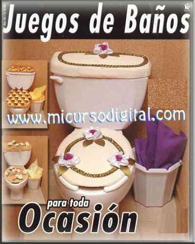 Taller De Sonia Lenceria De Baño:JUEGOS DE BAÑO LENCERIA HOGAR PARA TODA OCASION MANUALIDADES NAVIDAD