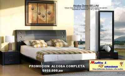 Muebles contemporaneos alcobas salas comedores camas for Muebles de madera contemporaneos