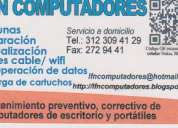Computadores, reparación venta  y mantenimiento