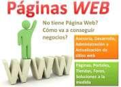 Su empresa no tiene pÁgina web? cómo va a conseguir negocios?