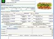 Inventarios pos facturacion remplace su caja registradora, asiste contabilidad