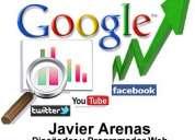 * excelente diseñador web freelance javier arenas*