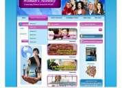 Ventas de páginas web diseño hosting y dominio
