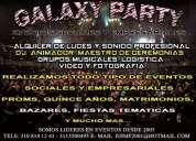 Bogota alquiler de luces y sonido galaxy party eventos