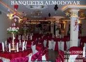 Banquetes almodovar organizamos y atendemos todo tipo de eventos sociales y empresariales