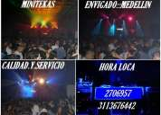 Minitekas fiestas  hora loca medellin 2706957