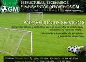 Estructuras y escenarios deportivos