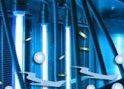 Desinfeccion y esterilizacion con ultravioleta