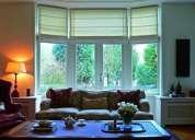 Lavado, desinfección y reparación de cortinas romanas