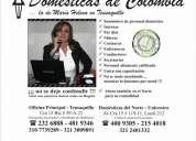 Domesticas de colombia - la de maria helena en teusaquillo