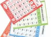 Cartones de bingo - alquiler de bingos y juegos bogota 4365288