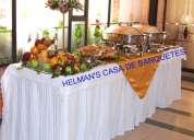 Banquetes helmans buffetts