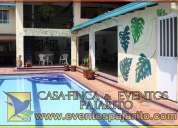 Organizacion de eventos en casa finca