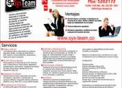 Systeam s. a. s. soporte técnico en sistemas.