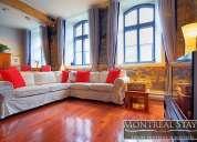 Disfruta del lujoso apartamento baron loft en montreal-2500 cad/m