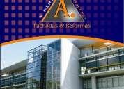 Restauraciones, reformas, pintura de fachadas limpieza de vidrios