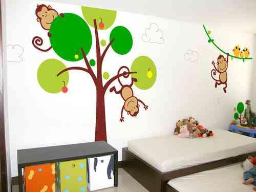 Fotos de vinilos decorativos cali cali hogar for Vinilos muebles infantiles