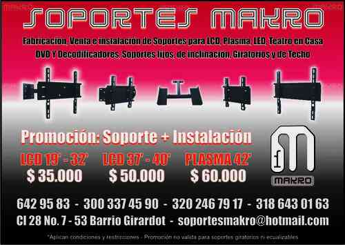 Soportes para tv makro don mat as hogar jardin muebles for Muebles jardin makro